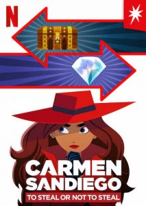 Carmen Sandiego: To Steal or Not to Steal 2020 مترجم